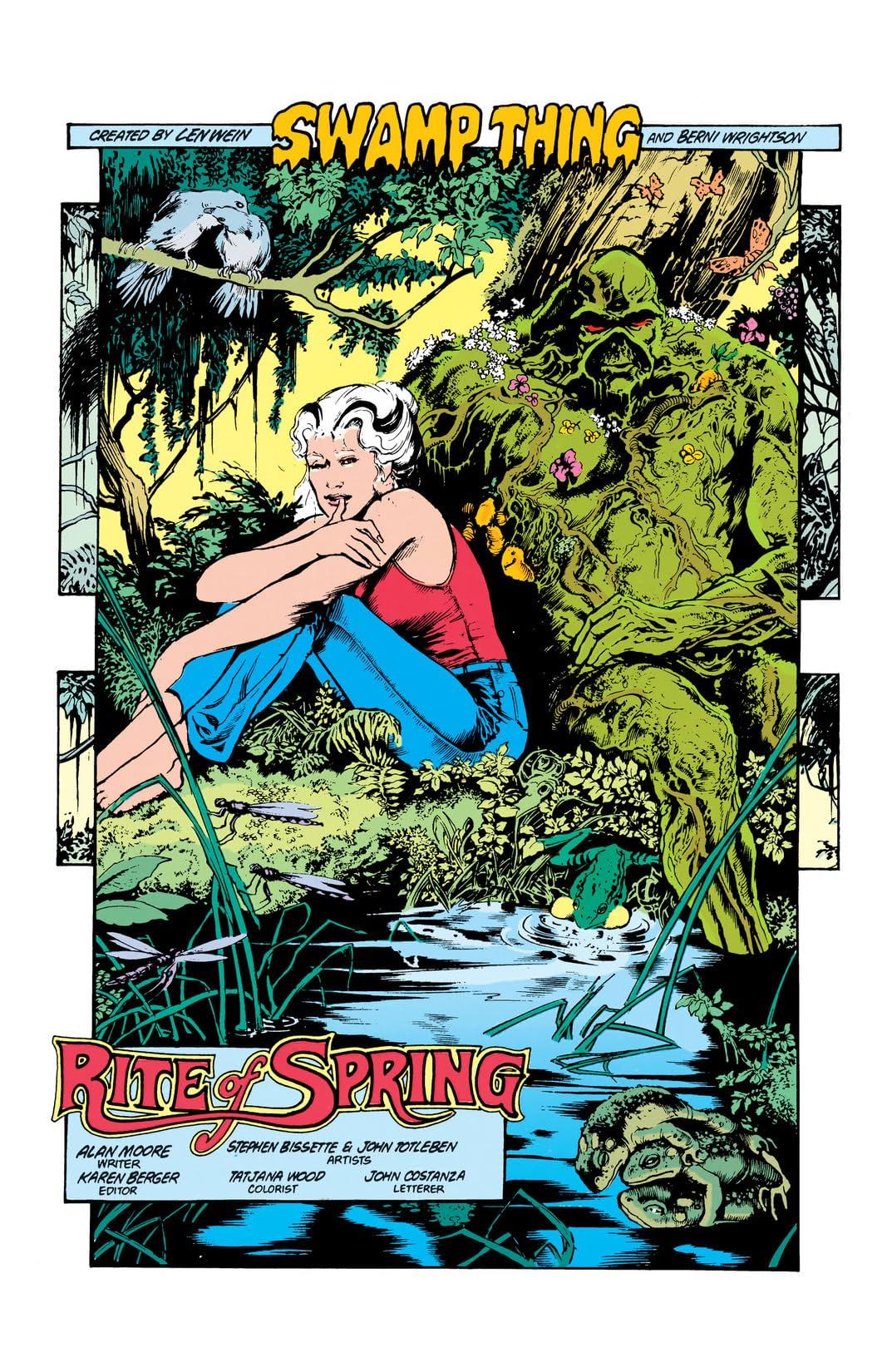 Swamp Thing (1982-1996) #34