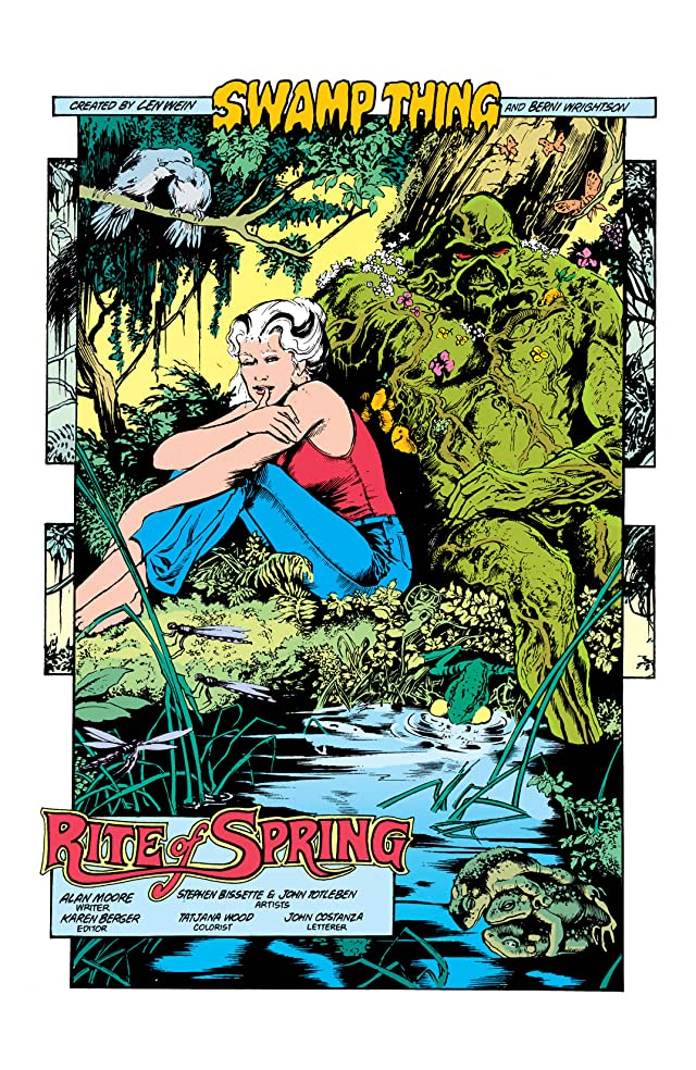 click for super-sized previews of Swamp Thing (1982-1996) #34