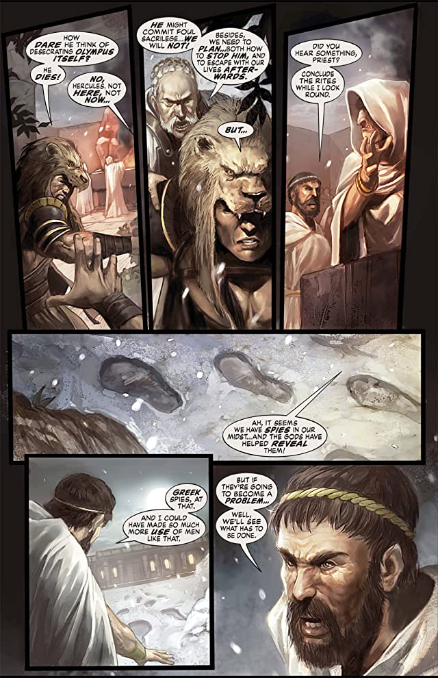 click for super-sized previews of Hercules: The Thracian Wars #4