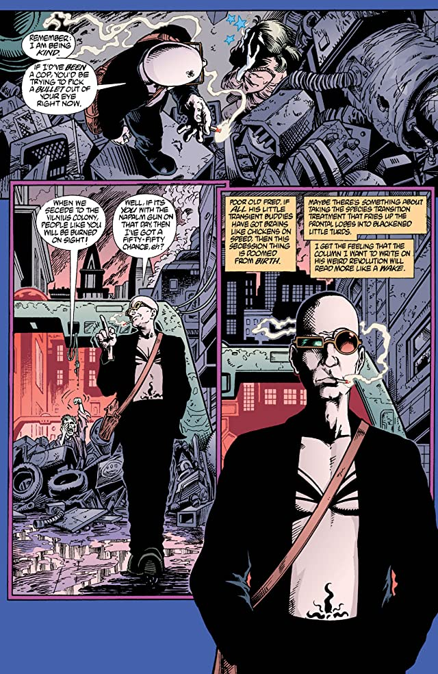 click for super-sized previews of Transmetropolitan #2