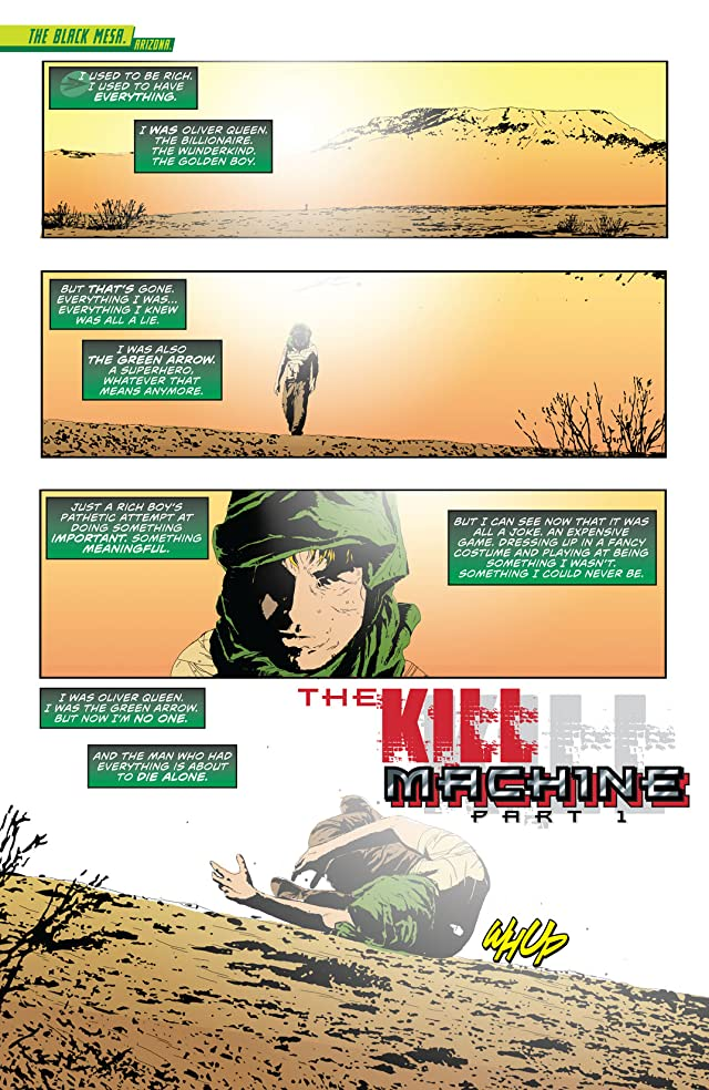click for super-sized previews of Green Arrow (2011-) Vol. 4: The Kill Machine