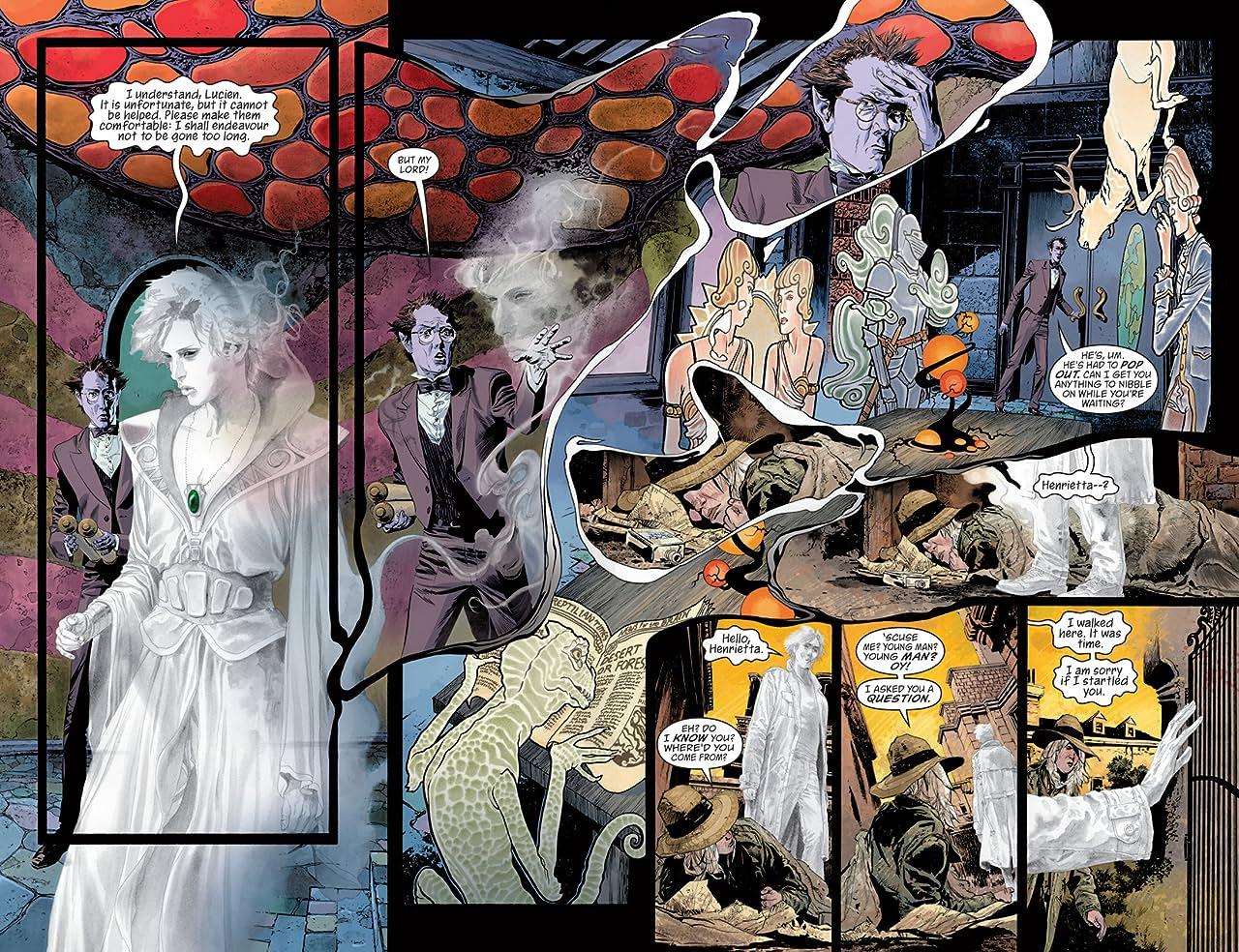 The Sandman: Overture (2013-2015) #2 (of 6)
