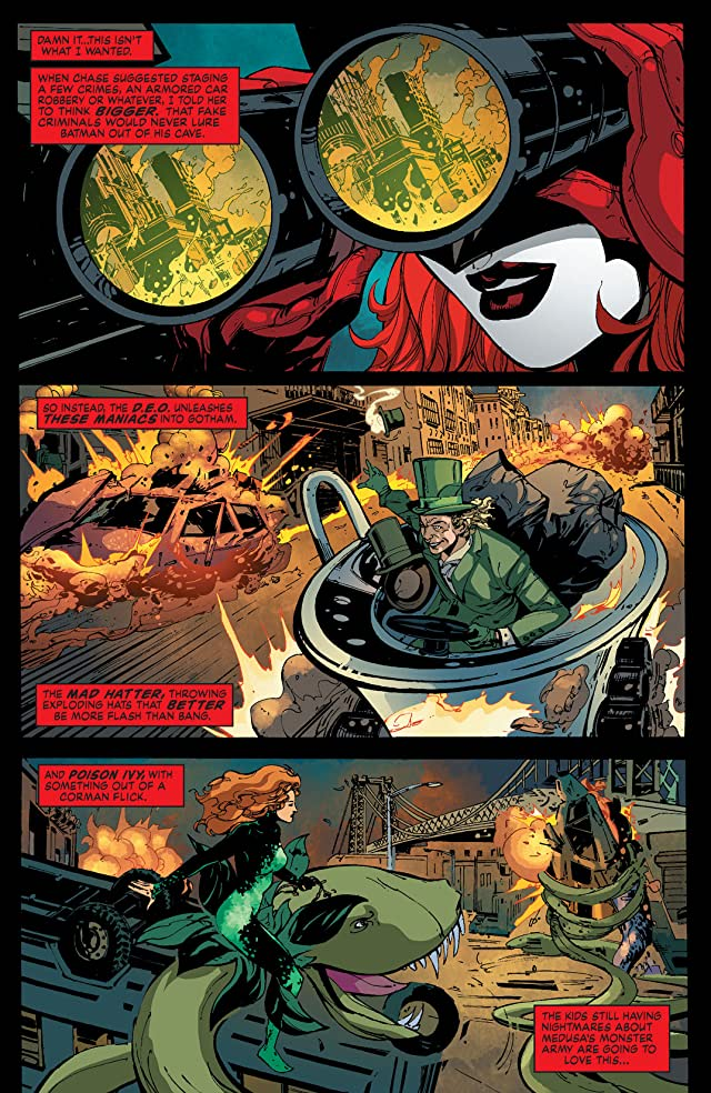 click for super-sized previews of Batwoman (2011-2015) #24