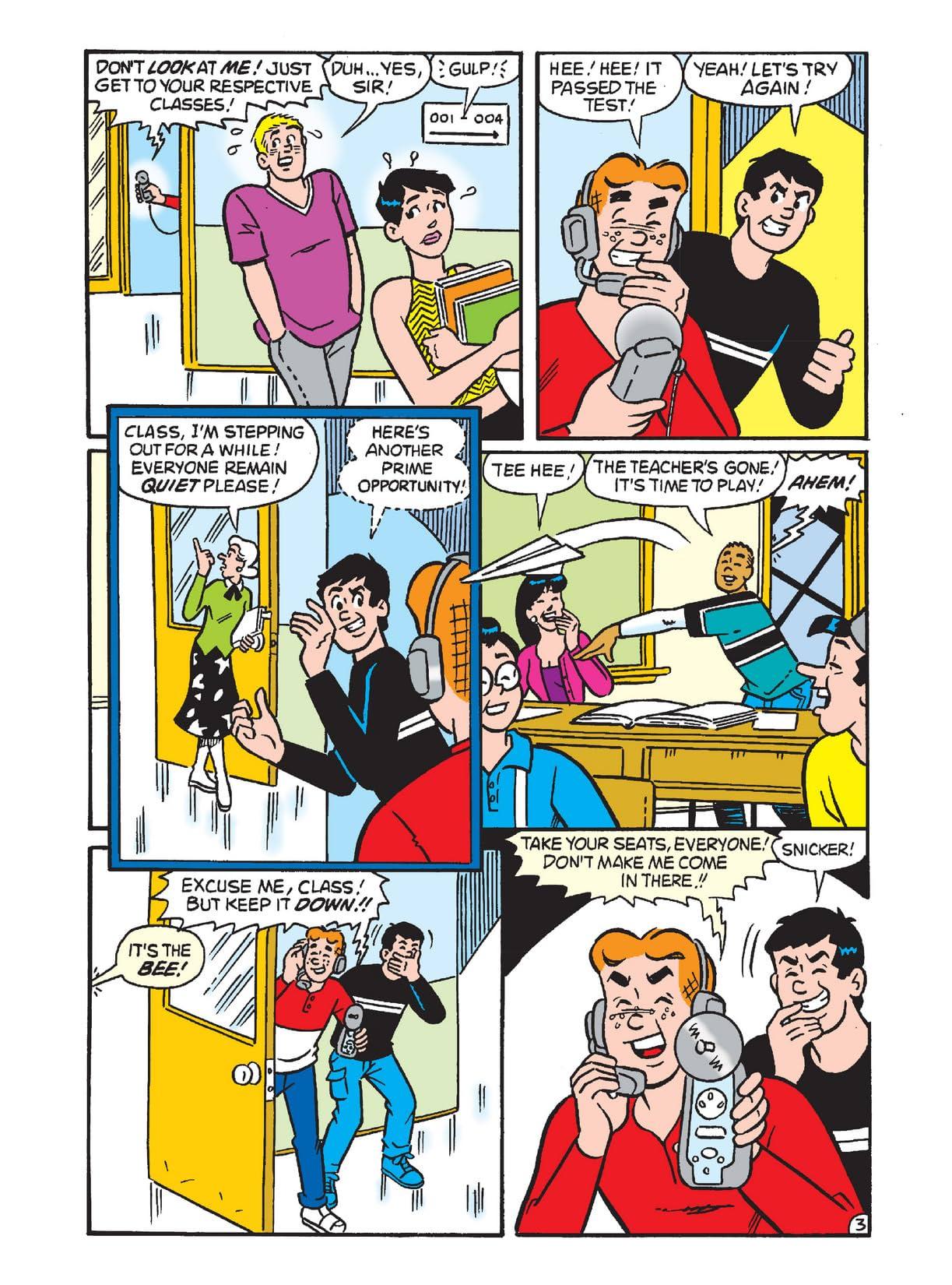 Archie's Funhouse Double Digest #4