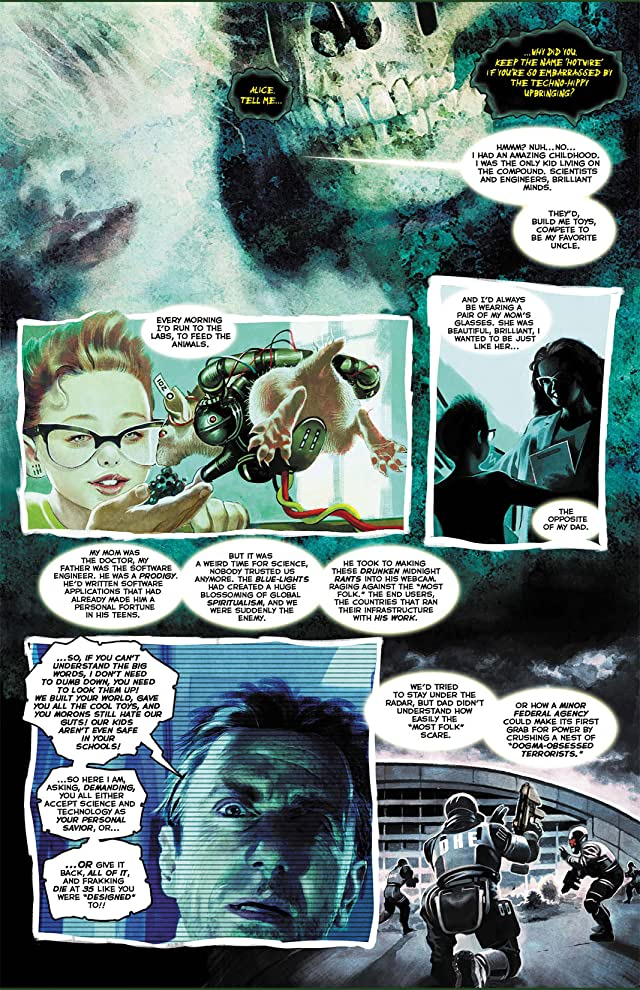 Hotwire: Requiem for the Dead #4 (of 4)