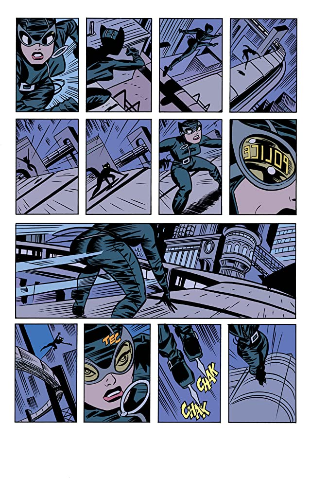 click for super-sized previews of Catwoman (2002-2008) #2