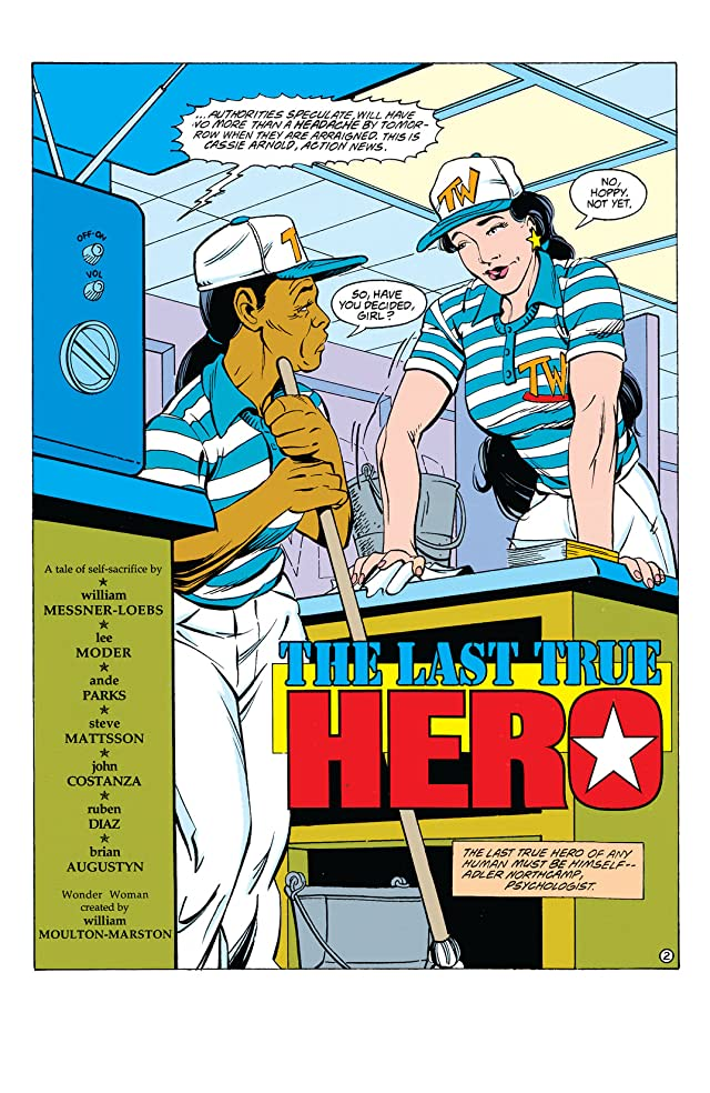 click for super-sized previews of Wonder Woman (1987-2006) #75