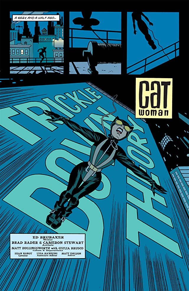 click for super-sized previews of Catwoman (2002-2008) #5