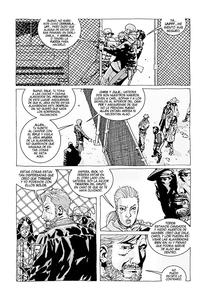 click for super-sized previews of The Walking Dead (Spanish) Vol. 3: Seguridad Tras Los Barrotes