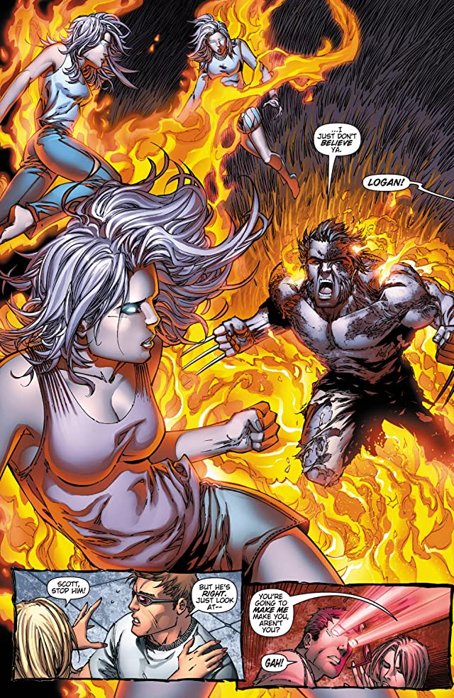 click for super-sized previews of X-Men: Phoenix Warsong #2