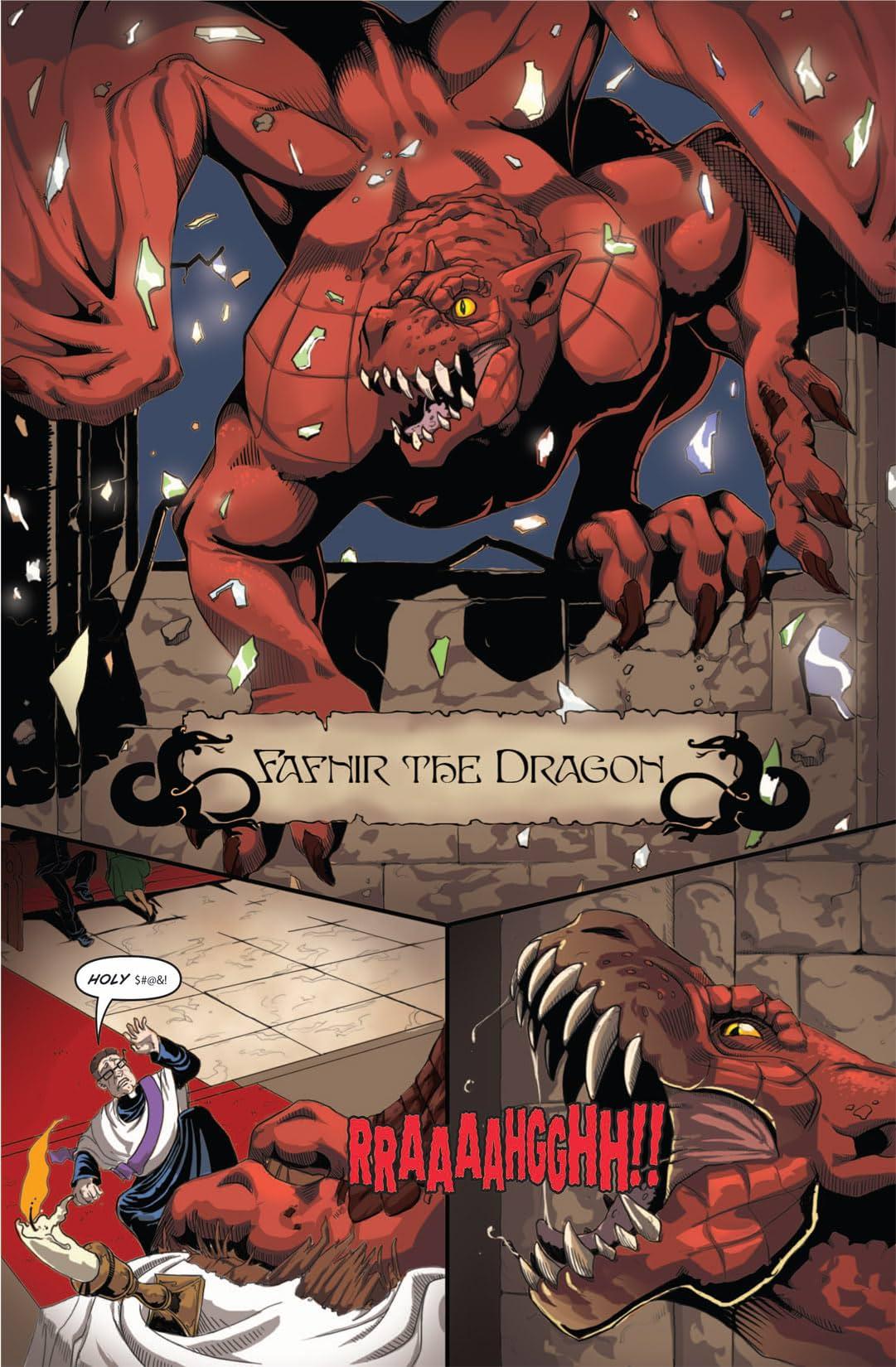 Fafnir the Dragon: Preview