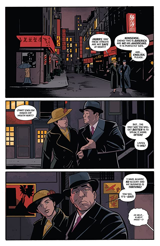 click for super-sized previews of The Shadow: Year One #8: Digital Exclusive Edition