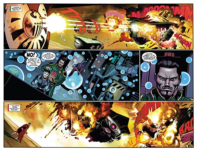 click for super-sized previews of Captain America (2012-) #19