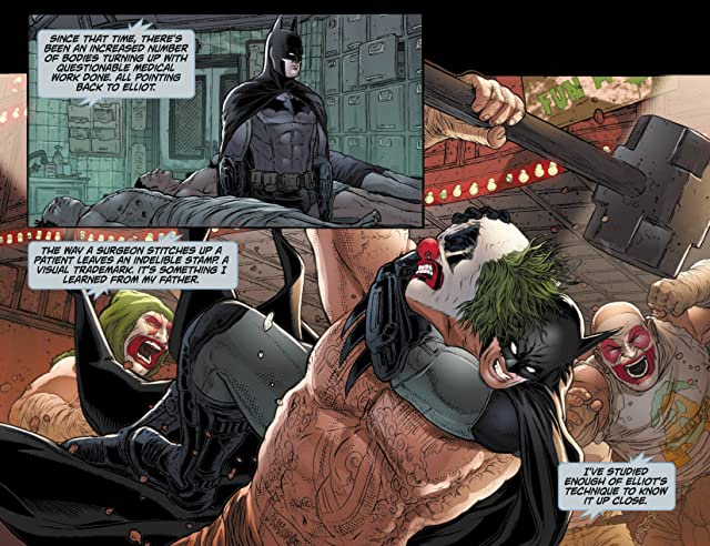 click for super-sized previews of Batman: Arkham Unhinged #12
