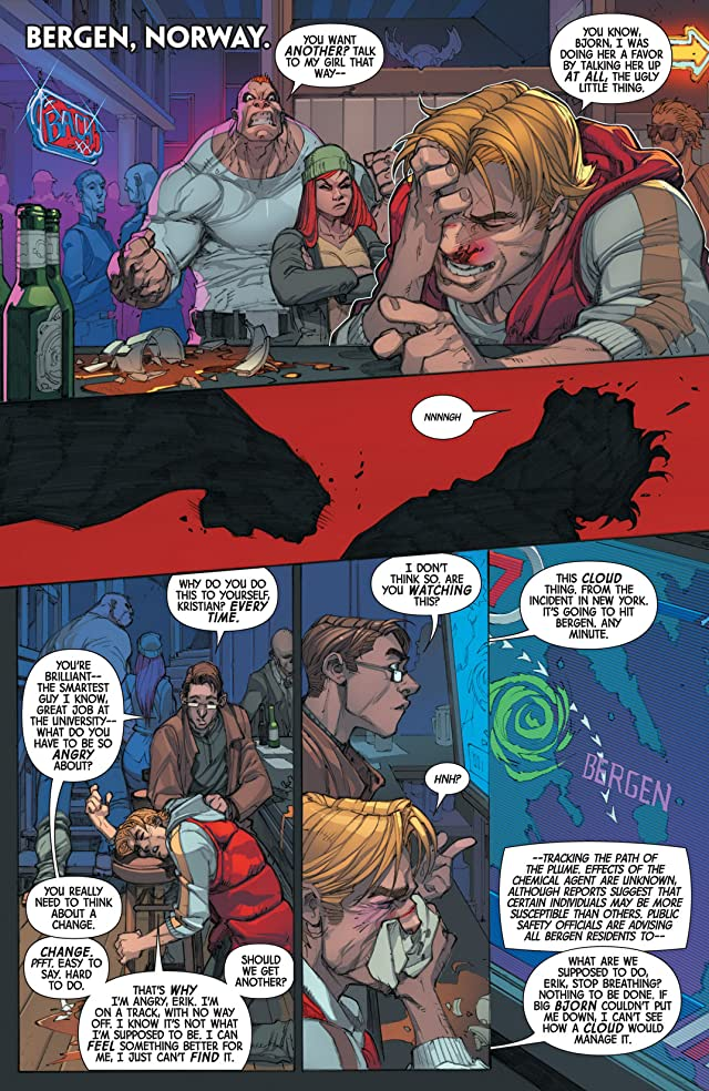 click for super-sized previews of Inhuman #1