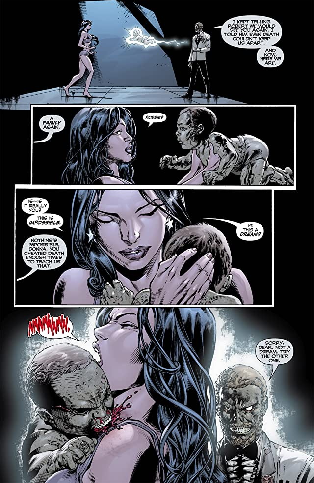 click for super-sized previews of Blackest Night: Titans #2