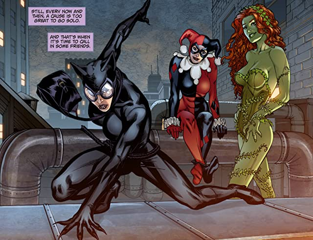 click for super-sized previews of Batman: Arkham Unhinged #17