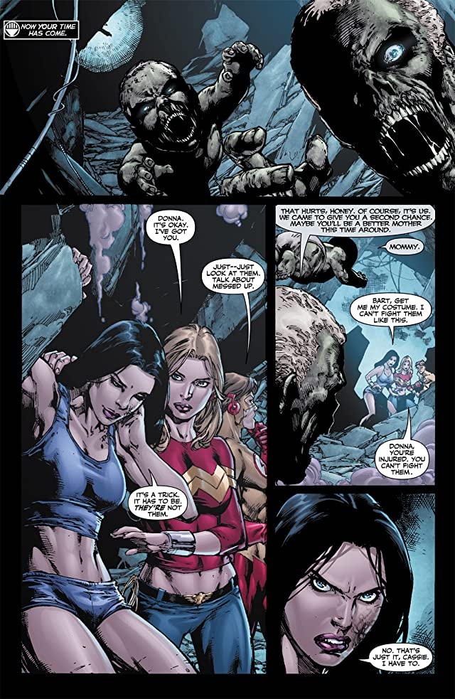 click for super-sized previews of Blackest Night: Titans #3