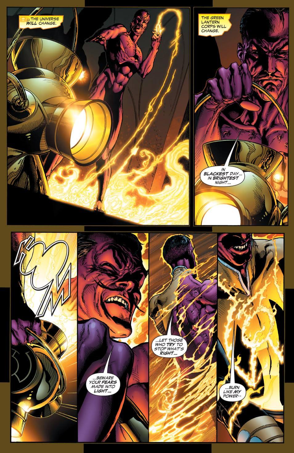 Green Lantern: Sinestro Corps Special #1