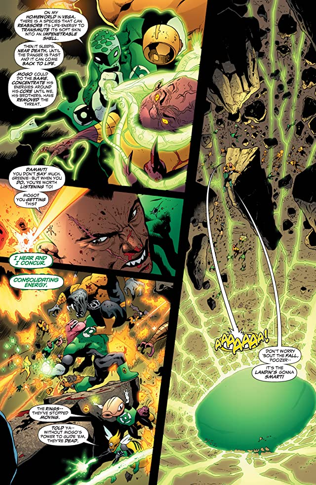 click for super-sized previews of Green Lantern Corps (2006-2011) #16