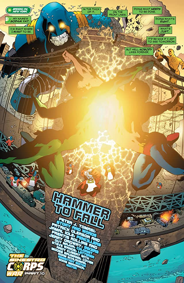click for super-sized previews of Green Lantern Corps (2006-2011) #18