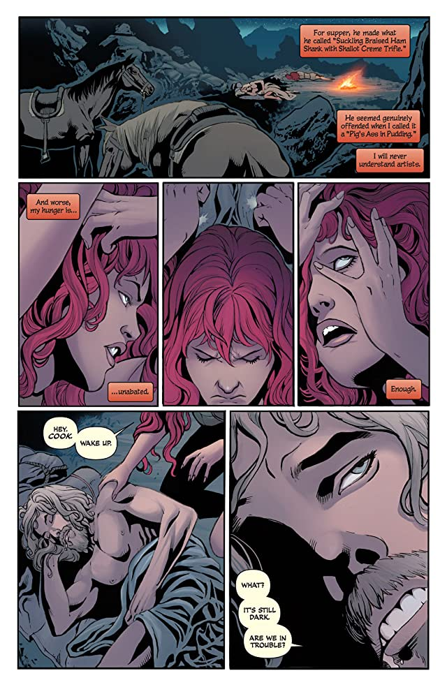 click for super-sized previews of Red Sonja #8: Digital Exclusive Edition