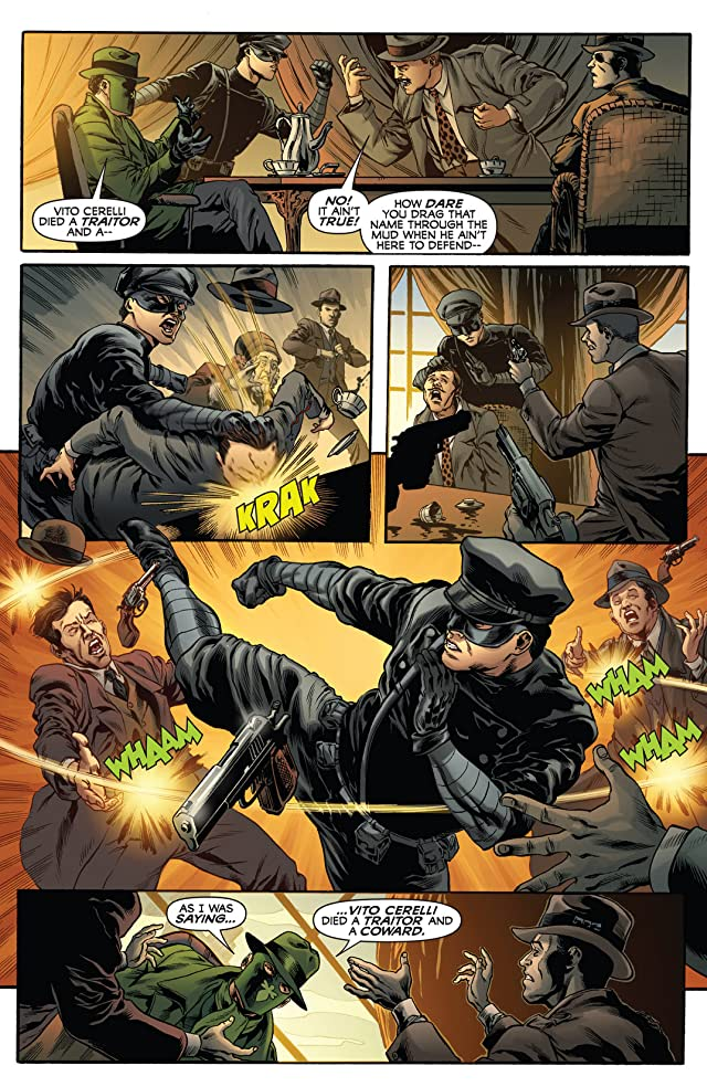 click for super-sized previews of The Green Hornet #11: Digital Exclusive Edition