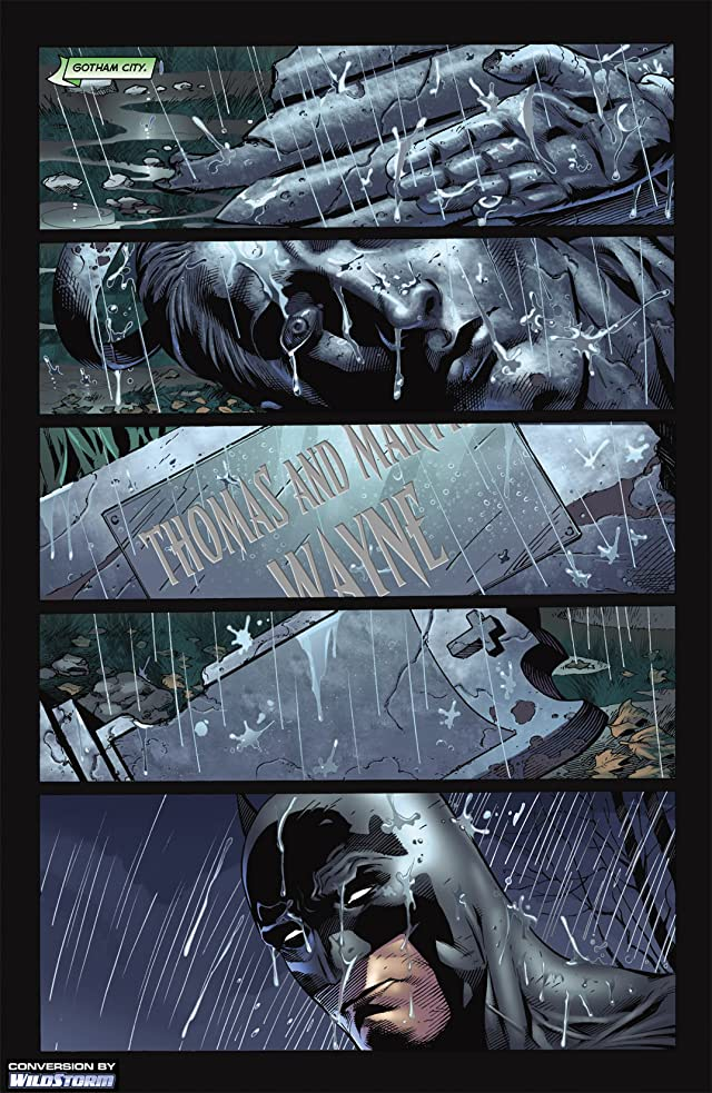 click for super-sized previews of Blackest Night: Batman #1
