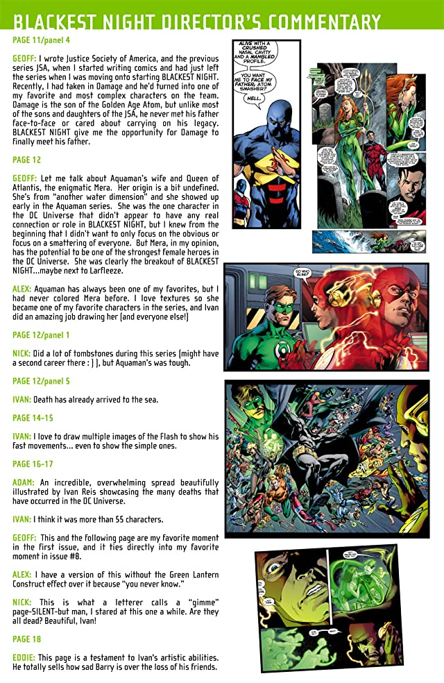 click for super-sized previews of Blackest Night: Director's Cut #1