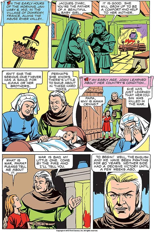 Classics Illustrated #78: Joan of Arc