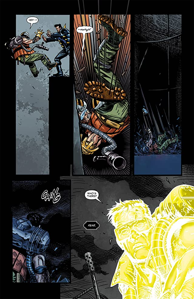 click for super-sized previews of Blackest Night: The Flash #3