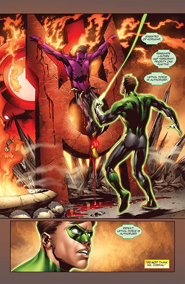 click for super-sized previews of Green Lantern (2005-2011) #37