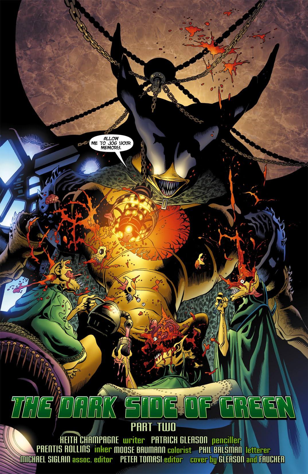 Green Lantern Corps (2006-2011) #8