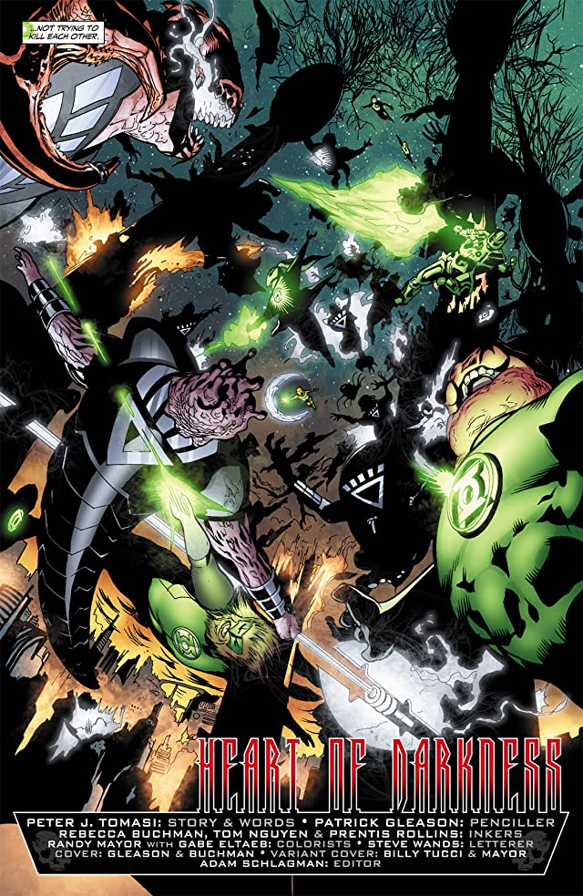 click for super-sized previews of Green Lantern Corps (2006-2011) #40