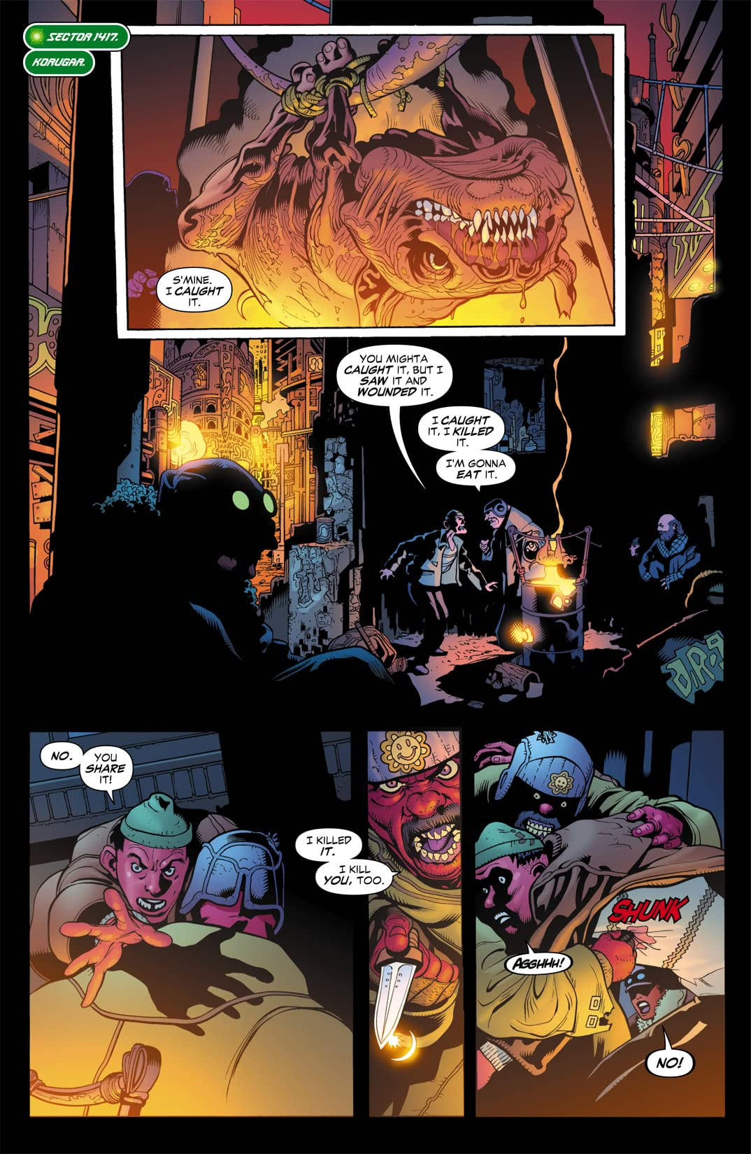 Green Lantern Corps (2006-2011) #10