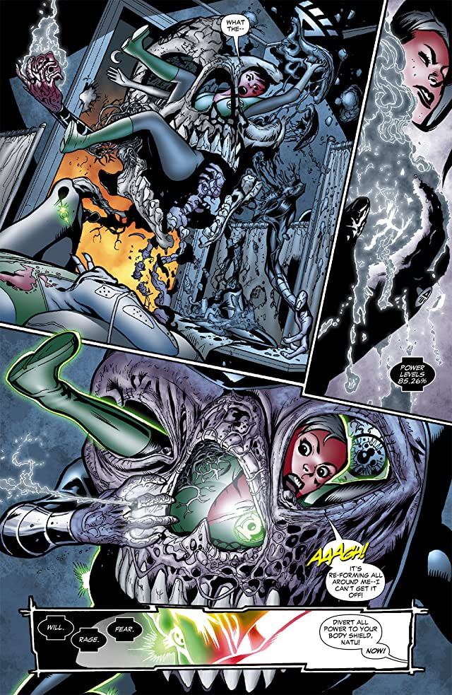 click for super-sized previews of Green Lantern Corps (2006-2011) #41