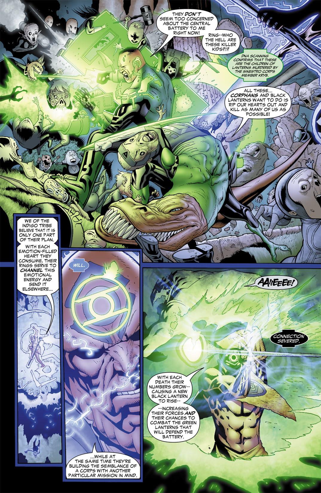 Green Lantern Corps (2006-2011) #42