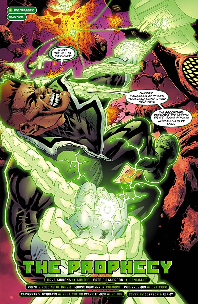 click for super-sized previews of Green Lantern Corps (2006-2011) #11