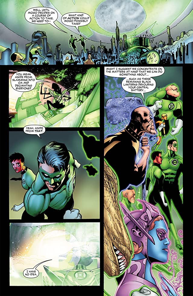 click for super-sized previews of Green Lantern Corps (2006-2011) #44