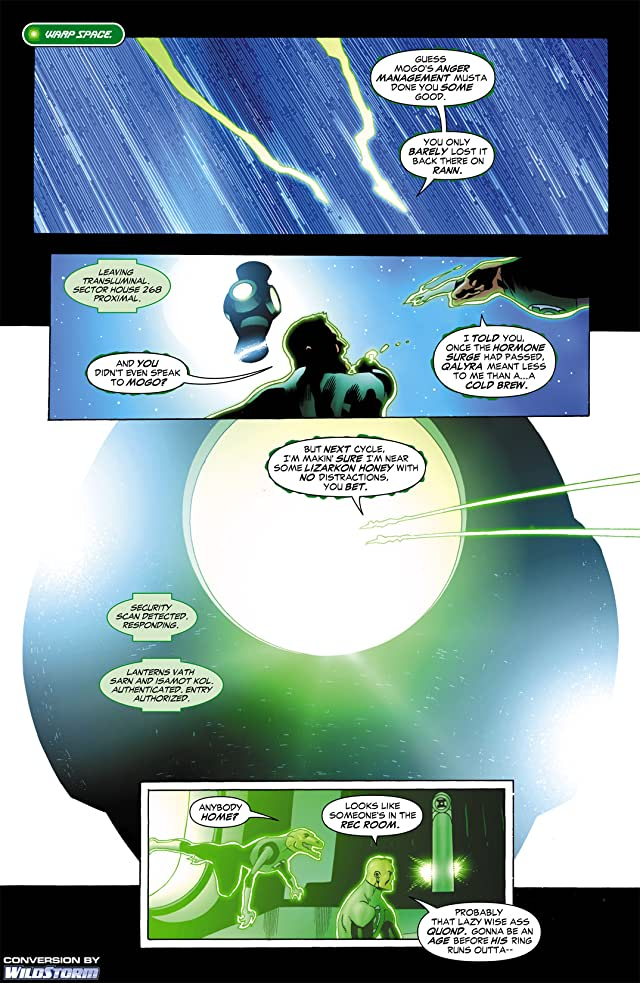 click for super-sized previews of Green Lantern Corps (2006-2011) #12