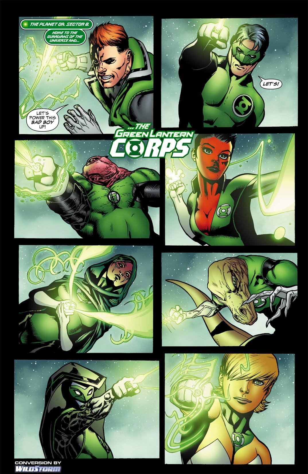 Green Lantern Corps (2006-2011) #47