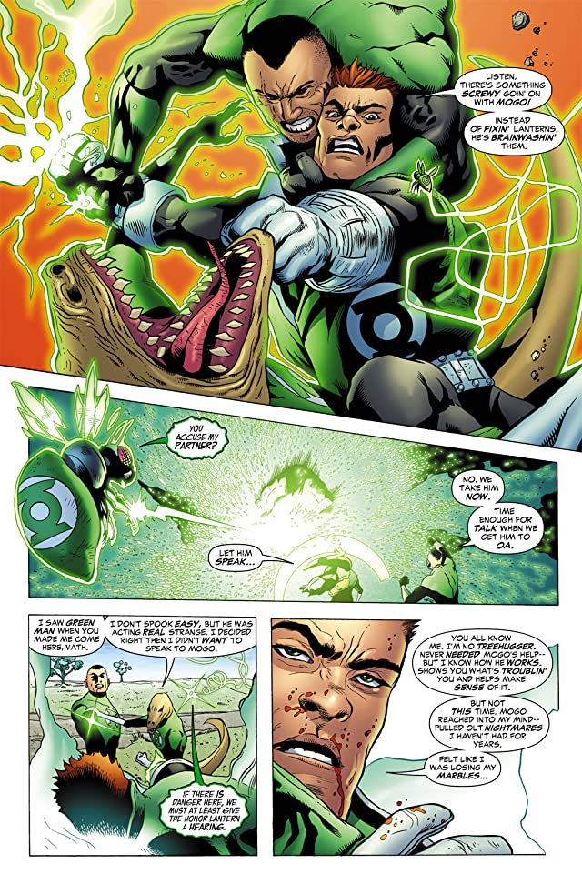 click for super-sized previews of Green Lantern Corps (2006-2011) #13