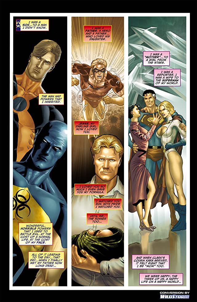 click for super-sized previews of Blackest Night: JSA #2