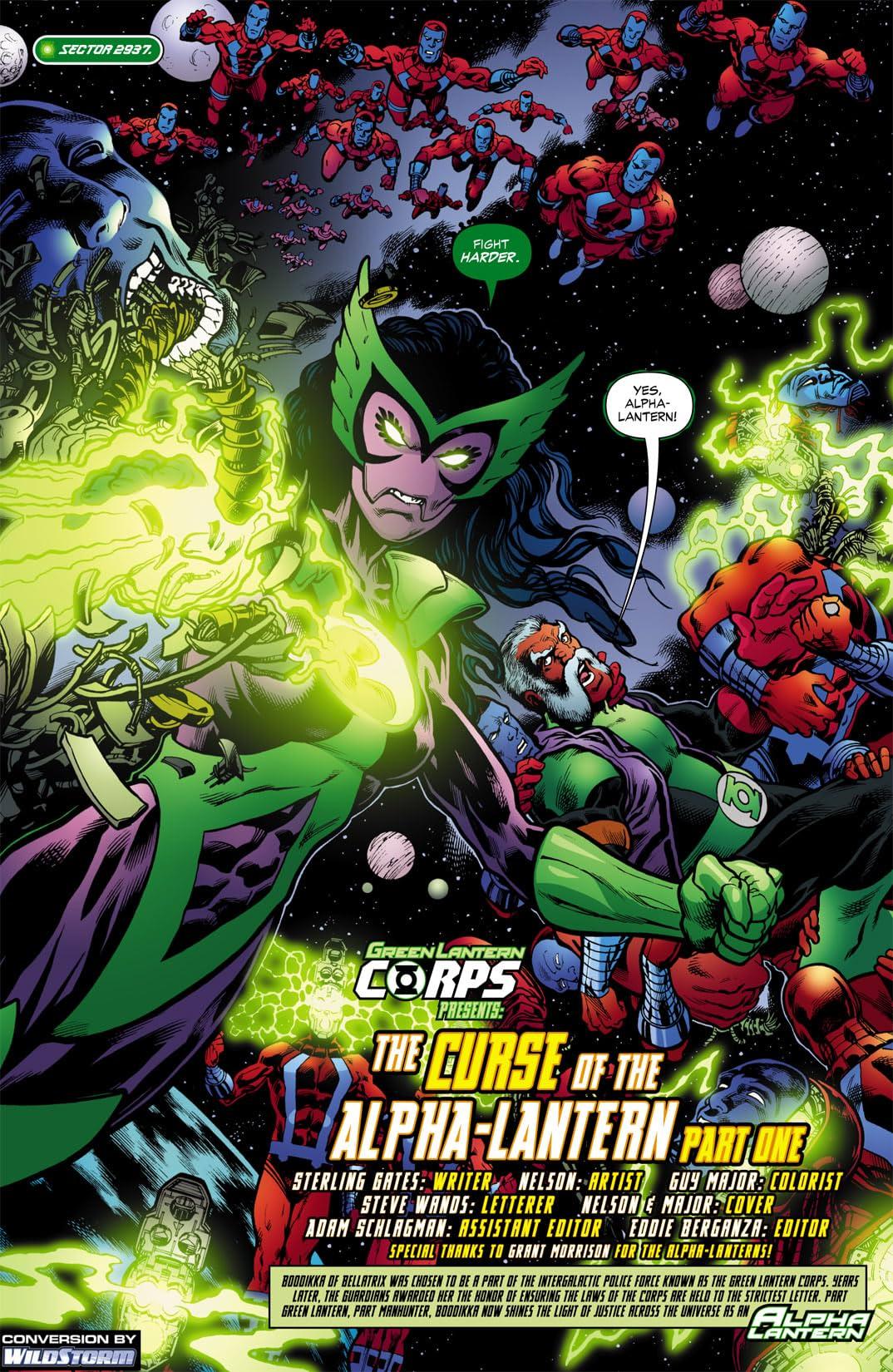 Green Lantern Corps (2006-2011) #21