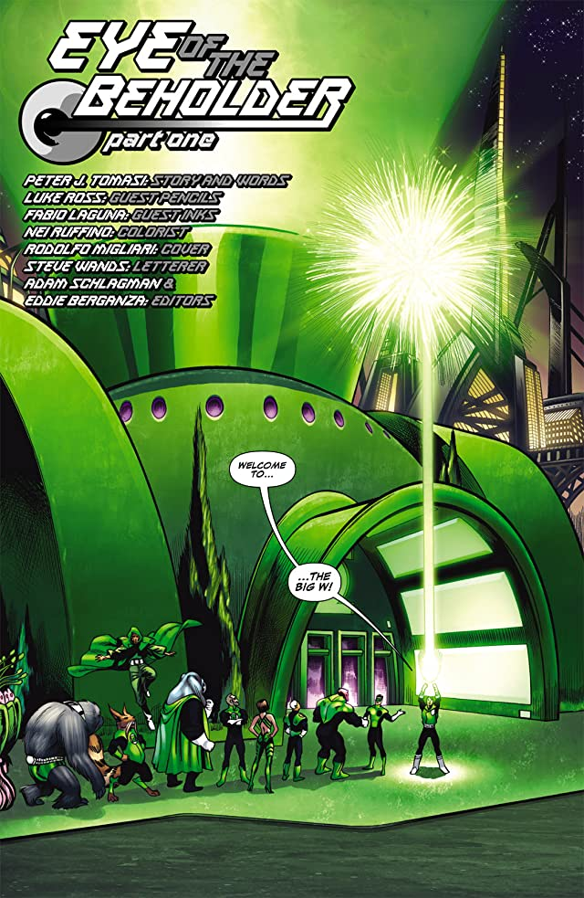click for super-sized previews of Green Lantern Corps (2006-2011) #27