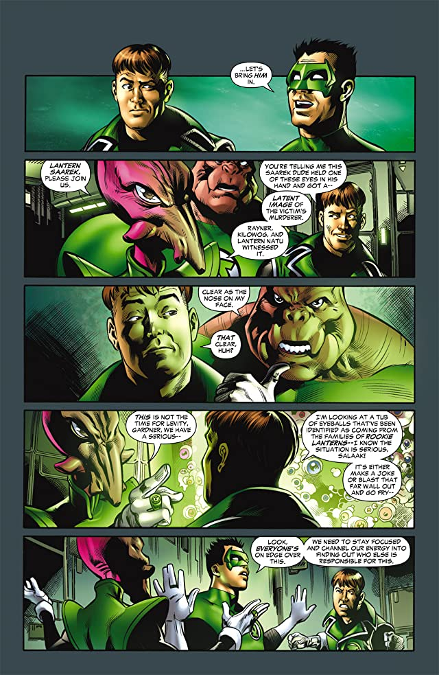 click for super-sized previews of Green Lantern Corps (2006-2011) #28