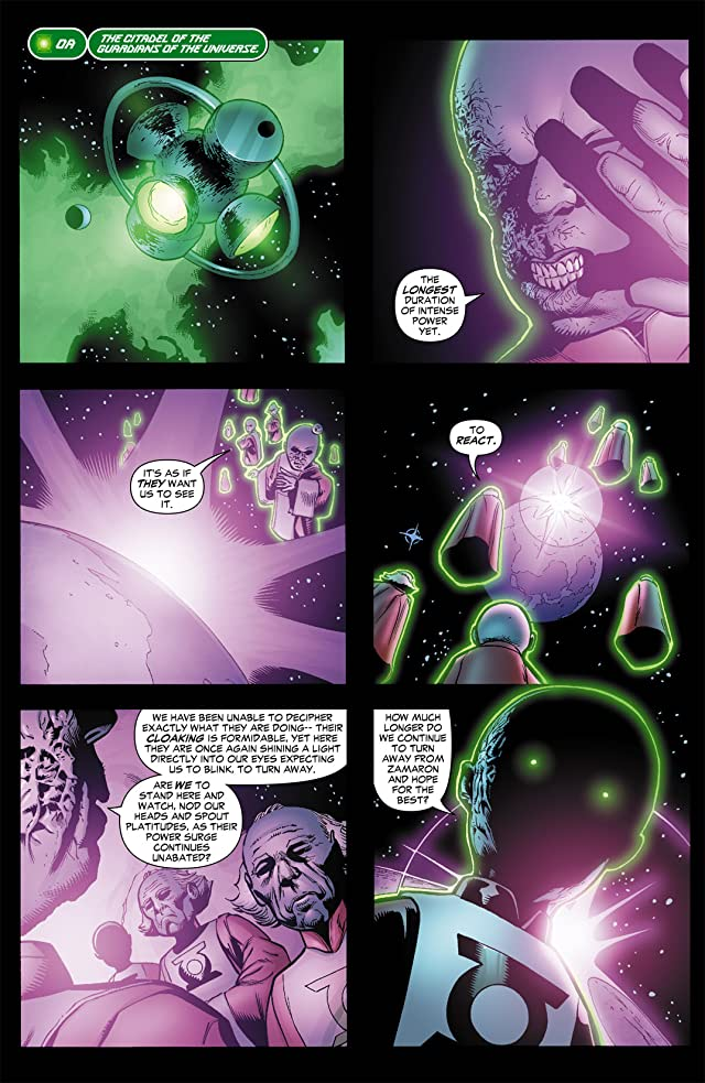 click for super-sized previews of Green Lantern Corps (2006-2011) #29