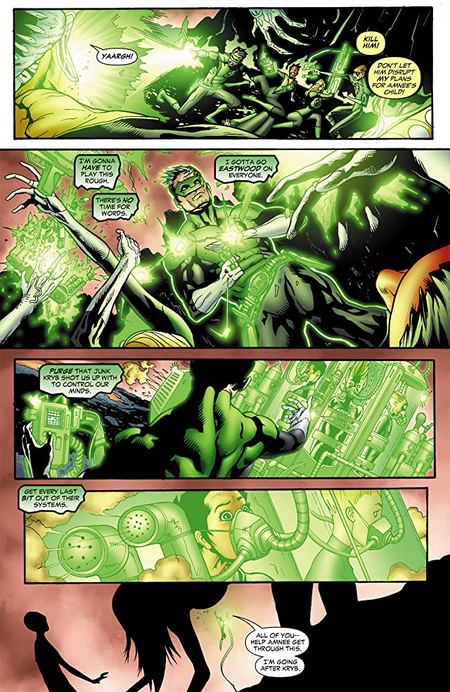 click for super-sized previews of Green Lantern Corps (2006-2011) #32