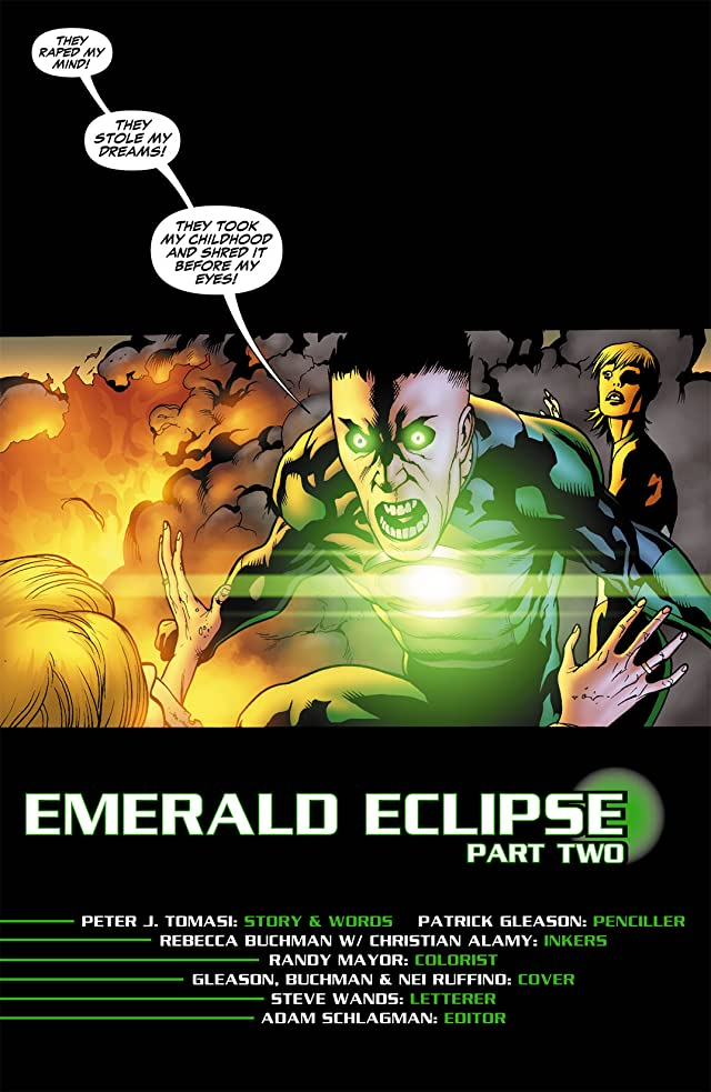 click for super-sized previews of Green Lantern Corps (2006-2011) #34