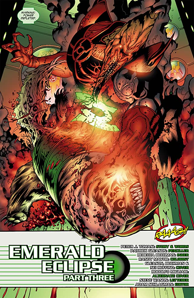 click for super-sized previews of Green Lantern Corps (2006-2011) #35
